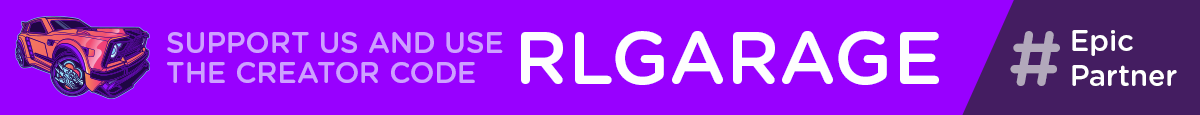 Use creator code RLGARAGE to support RL Garage #EpicPartner
